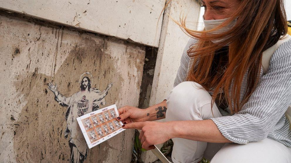 Vatican issues a street art stamp, ends up getting sued