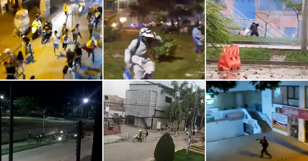 Videos Show the Violent, and Deadly, Ways Colombian Police Quell Protests