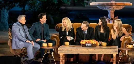Why 'Friends: The Reunion' Didn't Have Any New Scripted Scenes