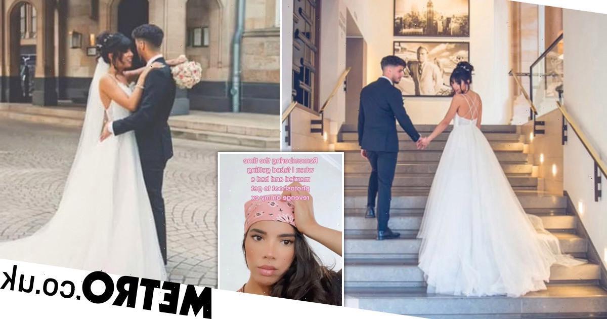Woman stages fake wedding to get revenge on her ex-boyfriend