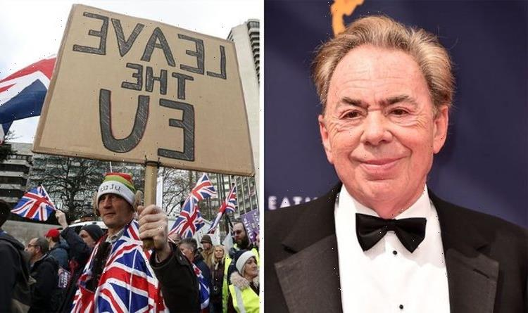 Andrew Lloyd Webber's jaw-dropping Remain rant: 'Brexit will end civilisation!'