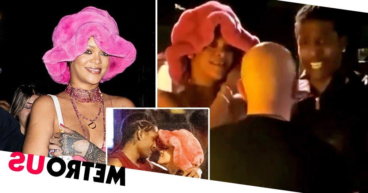 Bouncer has the audacity to ask Rihanna for ID in the club