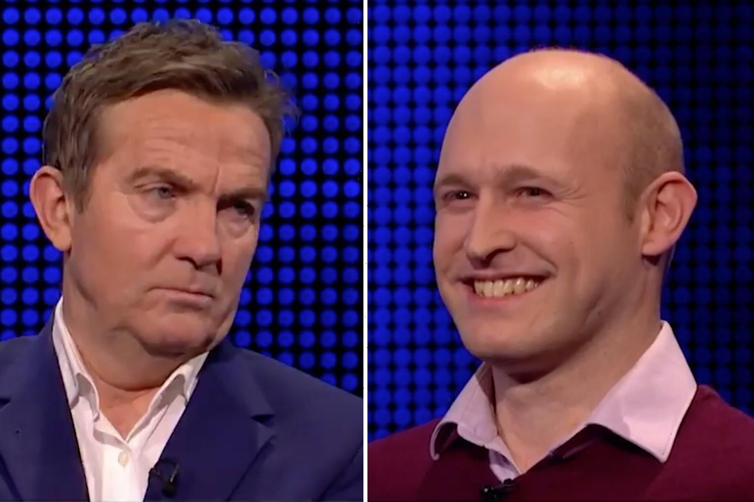 Bradley Walsh silences 'desperate' The Chase player as he accuses him of being a SPY