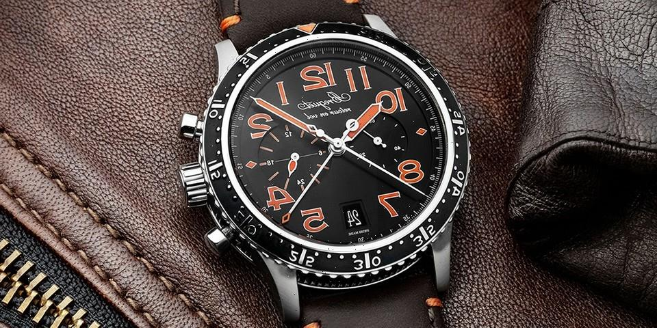 Breguet Updates XXI Pilot's Chronograph With Titanium Limited Editions
