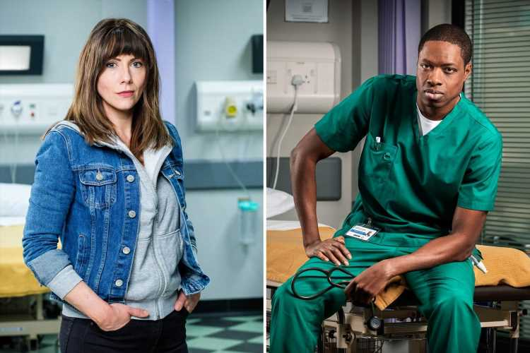 Casualty cast: New, leaving and returning characters