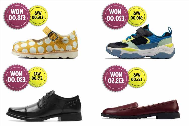 Clarks launches huge shoe sale with up to 60% off men's, women's and kids' footwear