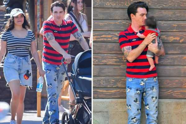 Drake Bell celebrates 35th birthday at Disneyland after he pleads guilty to once 'sending sexual messages to girl, 15'