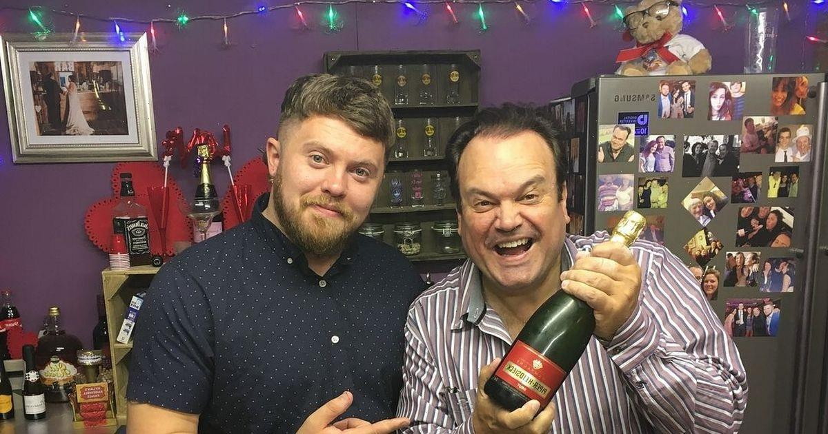 EastEnders' Shaun Williamson has 'making up to do' after finding secret son