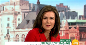 GMB's Susanna Reid suffers embarrassing gaffe as she accidentally swears on-air