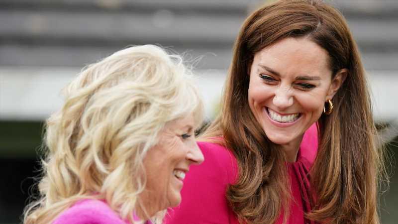 Here's What Happened When Jill Biden Met Kate Middleton