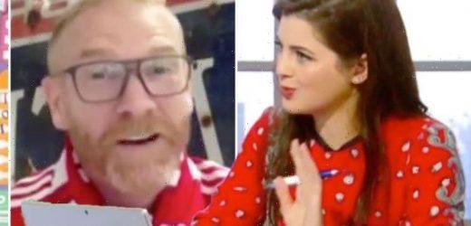 Jeremy Vine co-star Storm blasts guest for backing England against Scotland 'Never assume'