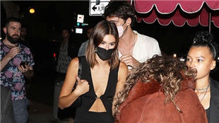 Kaia Gerber & Jacob Elordi Prove They're Going Strong With Night Out At Pal's Birthday Party — Pics