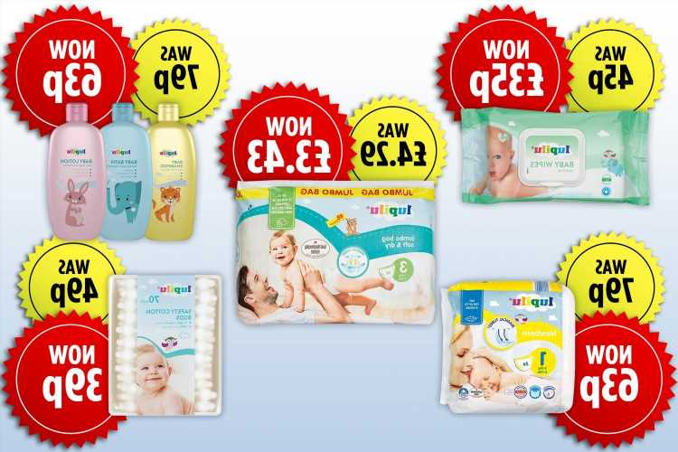 Lidl slashes price on baby products by 20% for Plus card users