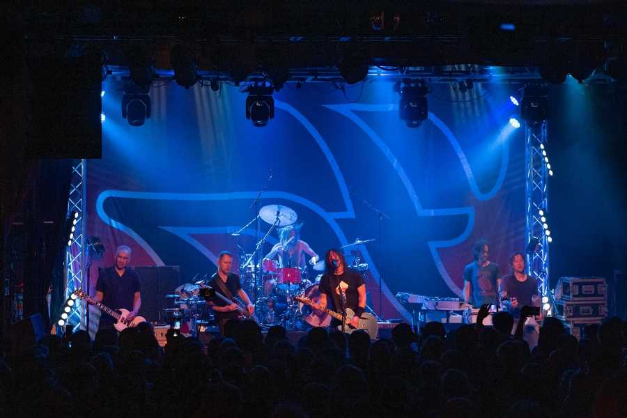 Live Music Learns to Live Again At Foo Fighters Club Gig