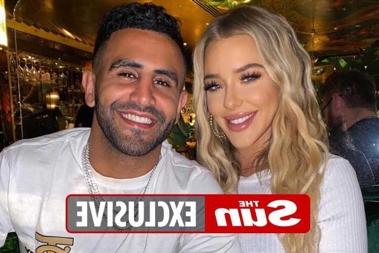 Man City's Riyad Mahrez proposes to Taylor Ward with huge £400k ring on Mykonos holiday