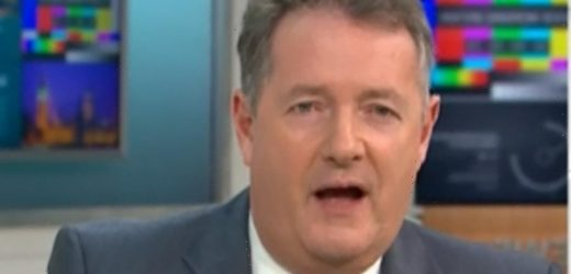 Piers Morgan says activist's 'patronising sexist slur' has 'triggered his anxiety' and rages against cancel culture