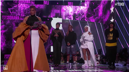 "Queen Latifah Accepts BET Lifetime Achievement Award: ""Be Black. Black Is Beautiful."""