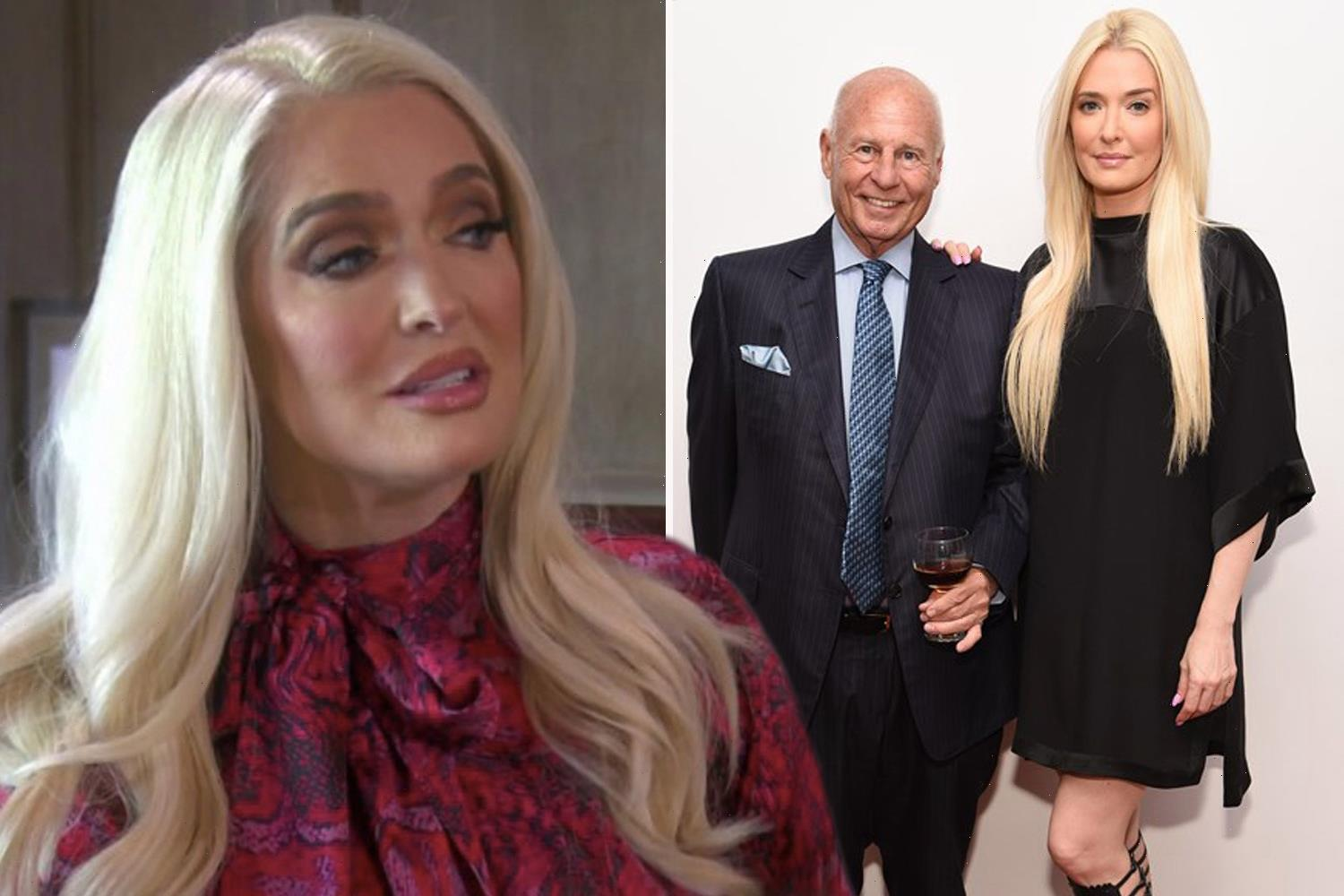 RHOBH's Erika Jayne admits Tom Girardi divorce is 'so f**king complicated' as she confronts costars for the first time