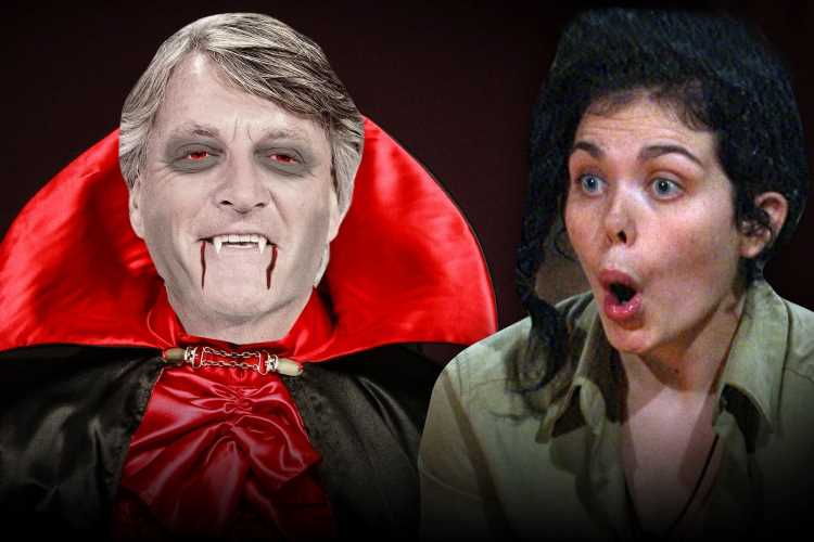 Scarlett Moffatt insists 'vampires walk among us' and is convinced Richard Madeley could be one of them