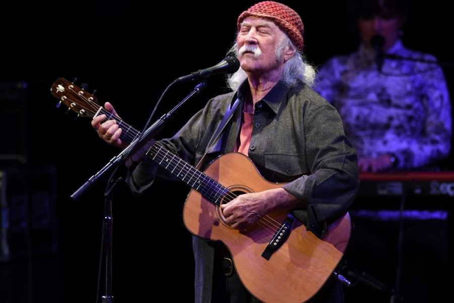 See David Crosby's Lyric Video for 'River Rise'