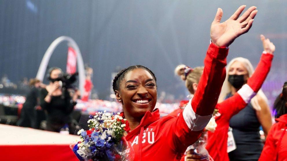 Simone Biles and 5 US women's gymnastics teammates headed to Tokyo