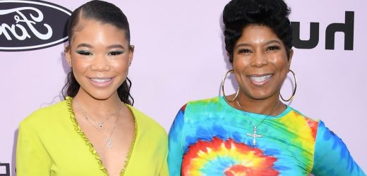 """Storm Reid """"Felt ALL the Love"""" at Her Surprise 18th Birthday Party (Courtesy of Her Mom)"""