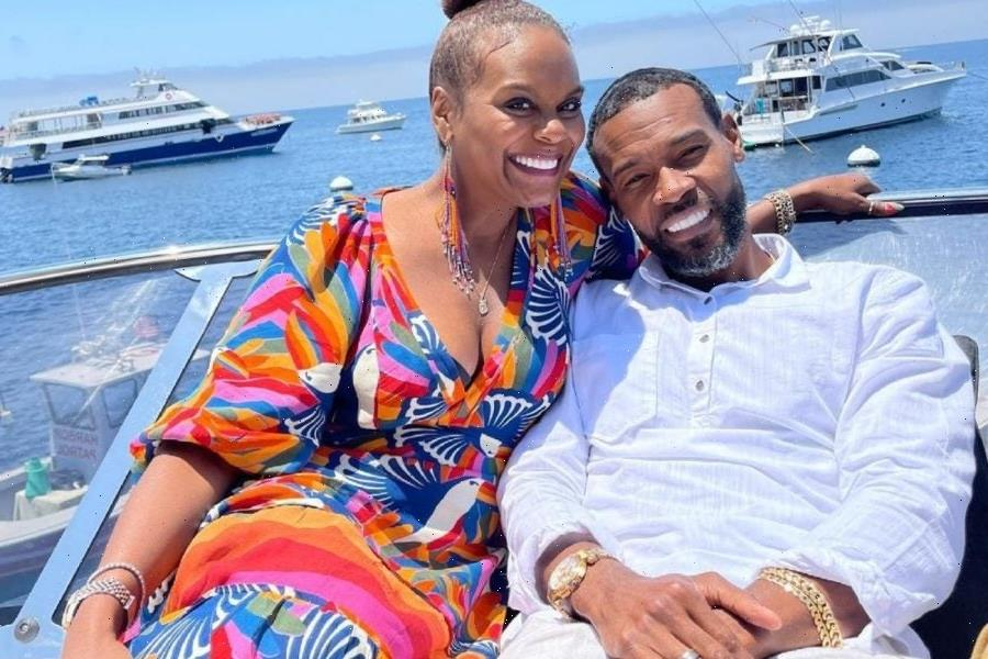 Tabitha Brown Achieves Goal Of Retiring Husband, Chance, From The LAPD