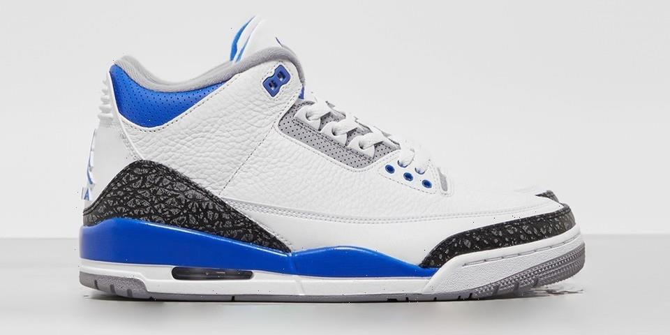 """Take Another Look at the Air Jordan 3 """"Racer Blue"""""""