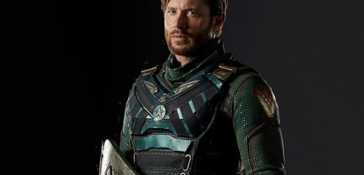 The Boys First Look: Jensen Ackles as Original Supe Soldier Boy in Season 3