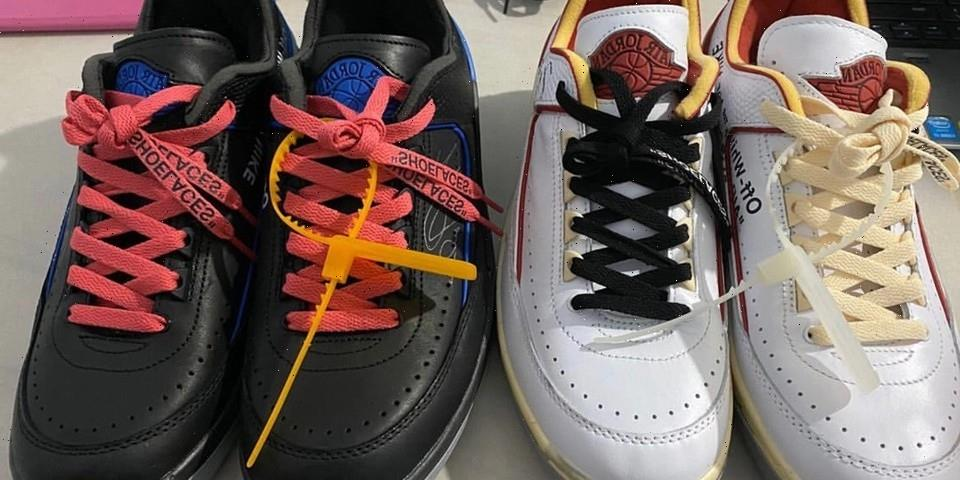 The Off-White™ x Air Jordan 2 Low Now Has a Rumored Release Date