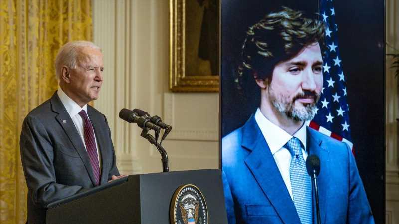 The Unexpected Twitter Exchange Between Joe Biden And Justin Trudeau That Has People Talking