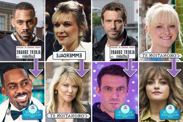 The actors who jump from EastEnders to Emmerdale and back again as Corrie's Katie McGlynn joins the cast of Hollyoaks