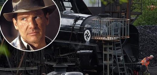 Train is transformed for the new Indiana Jones movie