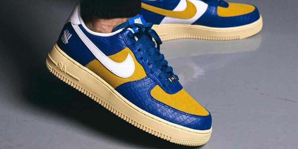 """UNDEFEATED and Nike Add a Croc Skin Air Force 1 to the """"Dunk vs. AF1"""" Pack"""