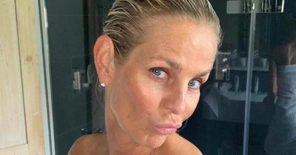 Ulrika Jonsson, 53, wows in tiny pink bikini as she worries she is 'too thin'