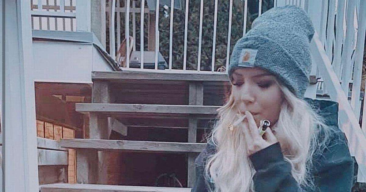 Weed-smoking woman slams trolls who brand her 'bad mum' and want kids taken away