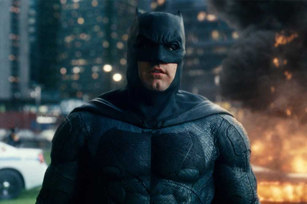 The Flash first look: Ben Afflecks Batman gets new suit, Batcycle