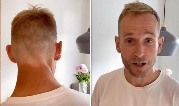 A Place In The Sun presenter Jonnie Irwin suffers tan mishap Thought it was a good idea