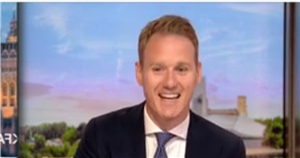 BBC Breakfasts Dan Walker giggles as politician refuses to give straight answer