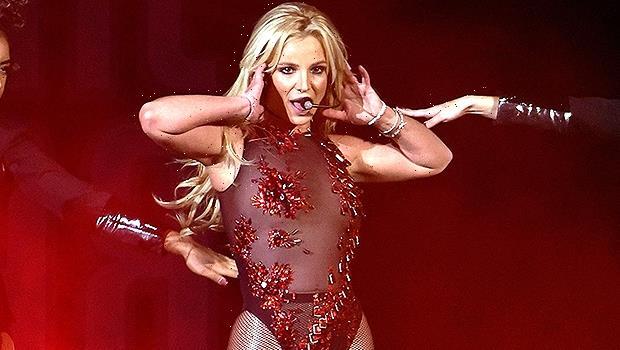 Britney Spears Dances In Lace Mesh Catsuit & Black Bikini As Reveals She Got Henna Tattoos  Watch