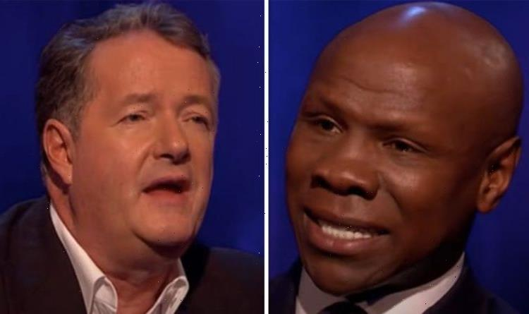 Chris Eubank fumed at Piers Morgan in tense exchange: Did you just cut me off?