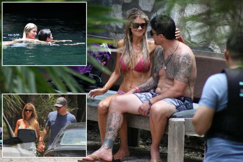 Christina Haack celebrating birthday in Tulum with new man Joshua Hall