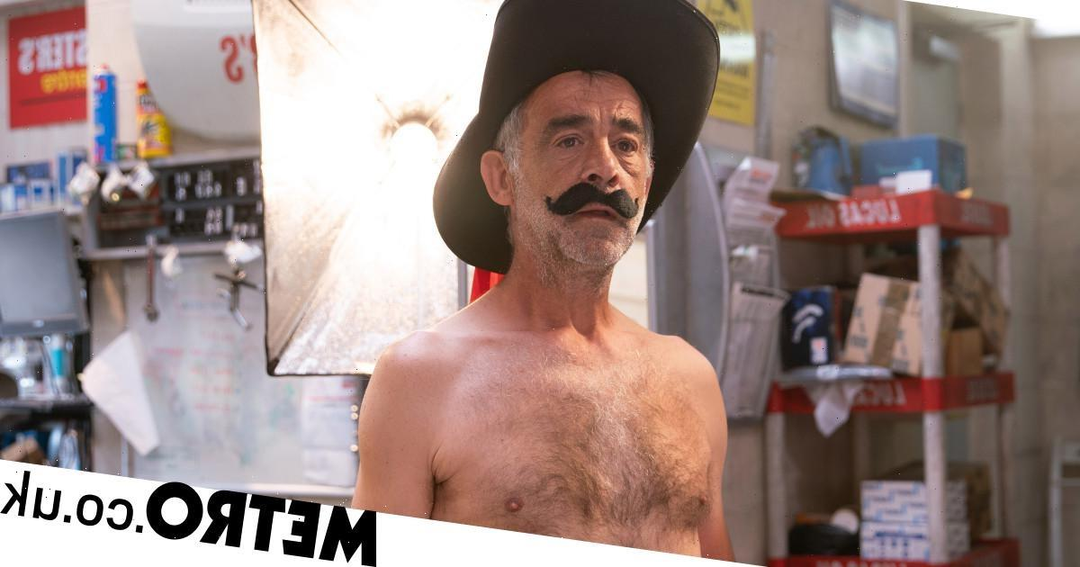 Corrie's Kevin is caught naked in X-rated scenes