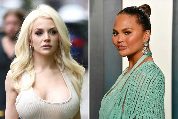 Courtney Stodden slams Chrissy Teigen & praises 'real' apology from Jason Biggs for 'hurting feelings' in old tweets