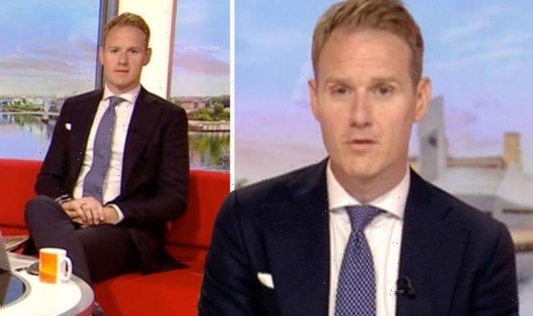 Dan Walker: BBC Breakfast host addresses show mishap as he blames big weekend