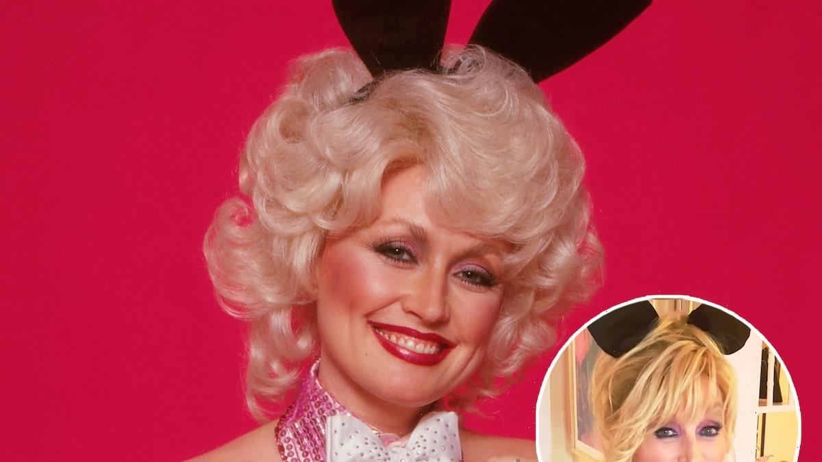 Dolly Parton, 75, Recreates 1978 Playboy Cover for Husband's Birthday