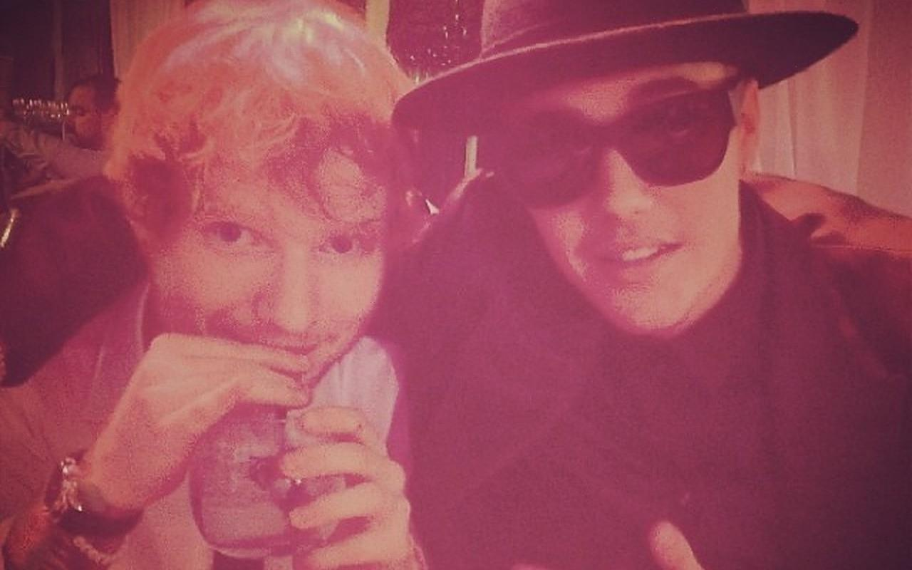 Ed Sheerans Inner Circle Thinks Giving Love Yourself to Justin Bieber Was Big Mistake