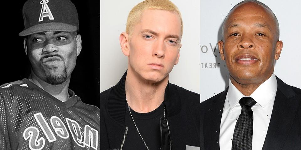 Eminem, Dr. Dre and The D.O.C. Further Hint at Possible Collab With New Photo