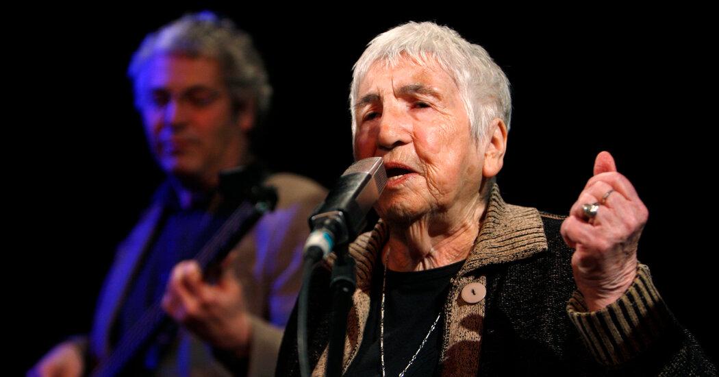 Esther Bejarano, 96, Dies; Auschwitz Survivor Fought Hate With Hip-Hop