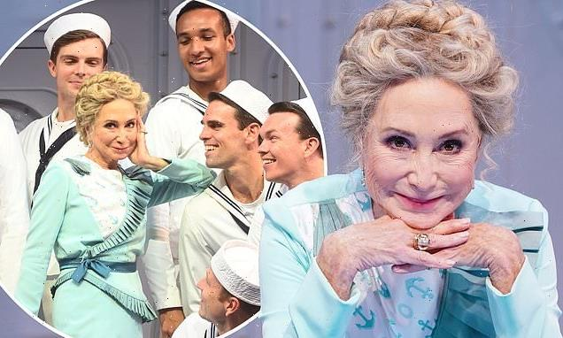 Felicity Kendall, 74, displays flawless complexion in Anything Goes